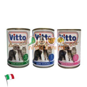 שימורים לחתולים במבצע, ויטו