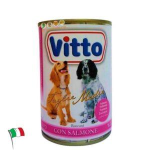 שימורים לכלבים בשר סלמון, ויטו