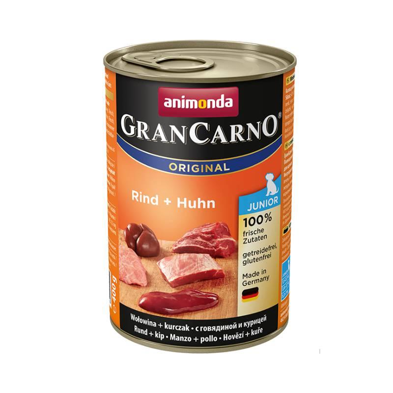 פחית מזון רטוב לגורי כלבים, אנימונדה גראן קרנו