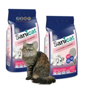 2 שקי חול מתגבש לחתולים של סניקט במבצע