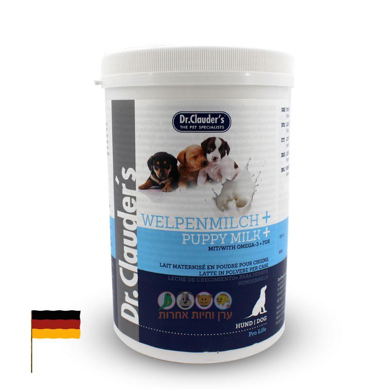 אבקת חלב לגורי כלבים 450 גרם תוצרת גרמניה