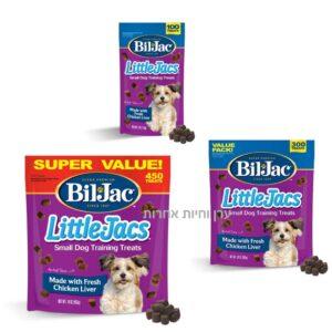 חטיפים לכלב מגזע קטן של ביל ג'ק