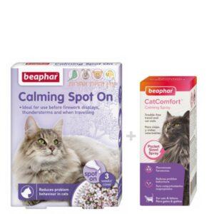תכשירים להרגעת חתולים במבצע