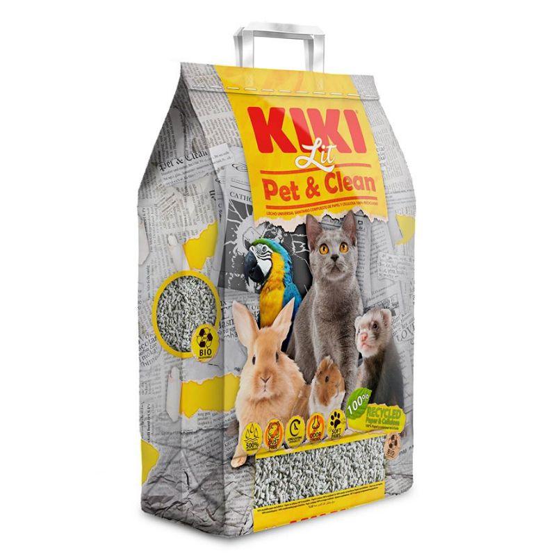 מצע נייר ממוחזר לבעלי חיים של חברת KIKI