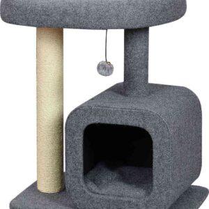 מתקן גירוד וצעצוע לחתולים