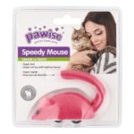 צעצוע לחתול עכבר רץ על גלגלים