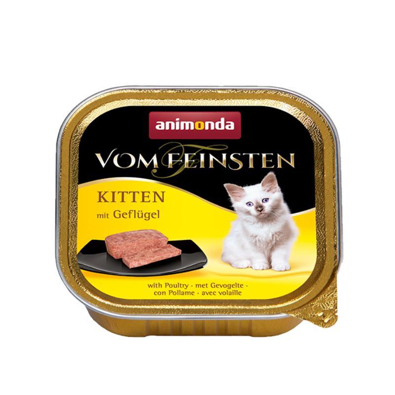 מעדן לגורי חתול בטעם בשר חזיר, אנימונדה