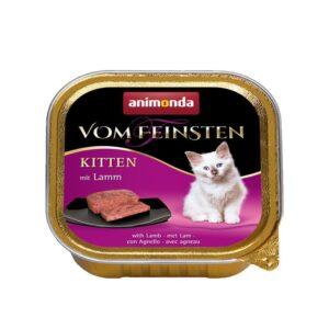 מעדן לגורי חתול בטעם בשר טלה, אנימונדה