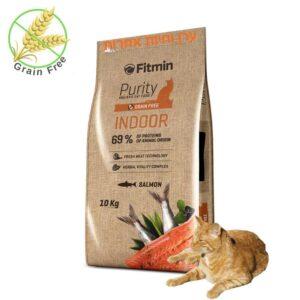 שק מזון ללא דגנים פיוריטי לחתולי בית