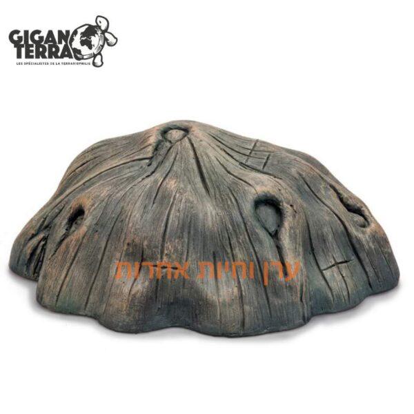 מסתור לזוחלים דמוי קליפת עץ, 32 סמ giganterra