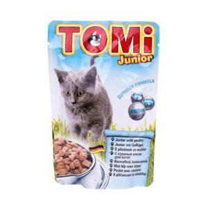 חטיפים לגורי חתולים של TOMI