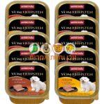 מזון רטוב לגורי כלבים במבצע 10 קופסאות אנימונדה