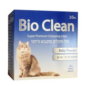 קרטון חול מתגבש לחתולים במשקל 10 קילו