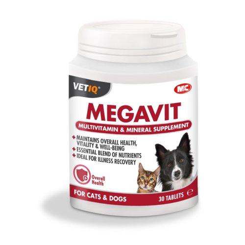 טבליות ויטמינים לכלבים וחתולים