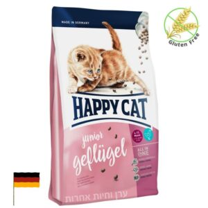 מזון ללא גלוטן לגורי חתולים הפי קט