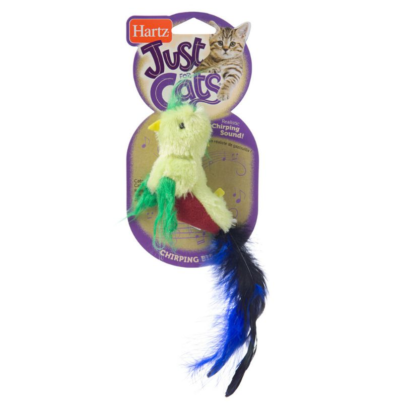 צעצוע לחתולים בובת ציפור קטניפ