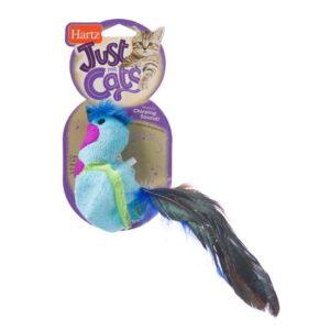 צעצוע לחתול ציפור טרף כחולה