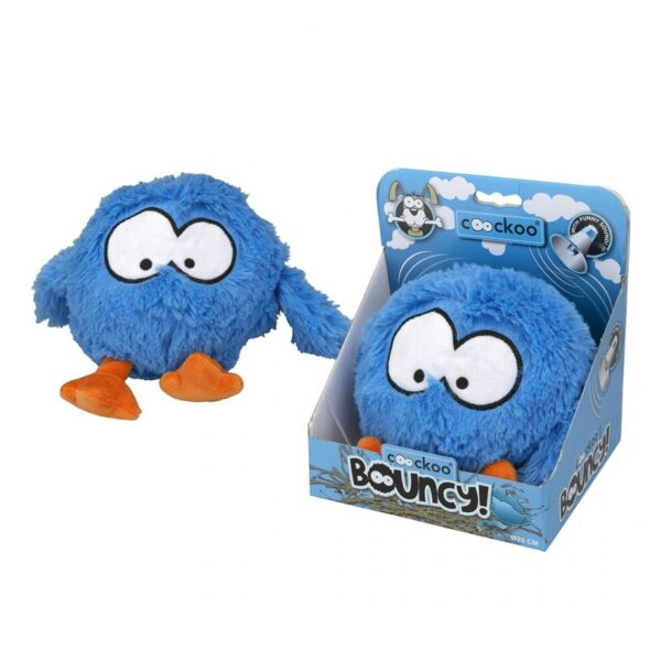 Bouncy jumping dog toy