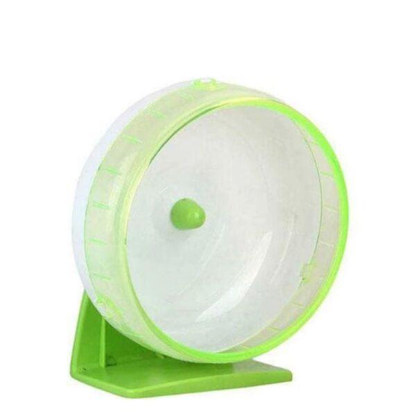 """גלגל פלסטיק שקט לאוגרים 12 ס""""מ"""