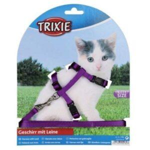 רתמת בד סגול לחתלתולים של טריקסי