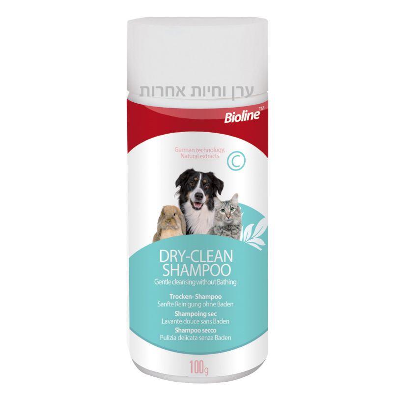 שמפו ללא שטיפה לכלבים וחתולים