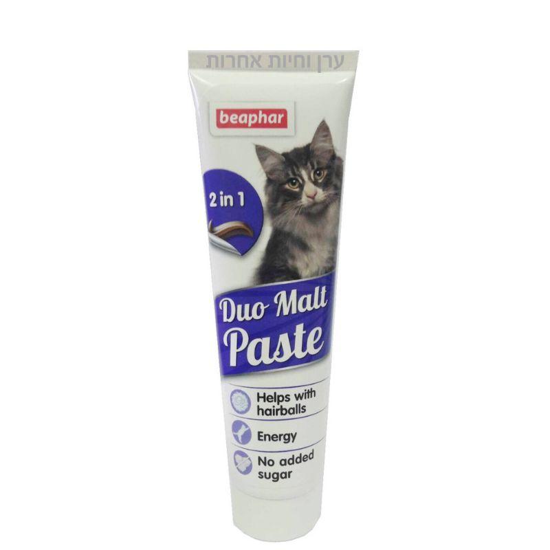 שפורפרת תוסף תזונה למניעת כדורי שיער אצל חתולים