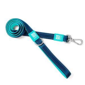 רצועה לכלב של מקס ומולי דגם מטריקס כחול שמיים