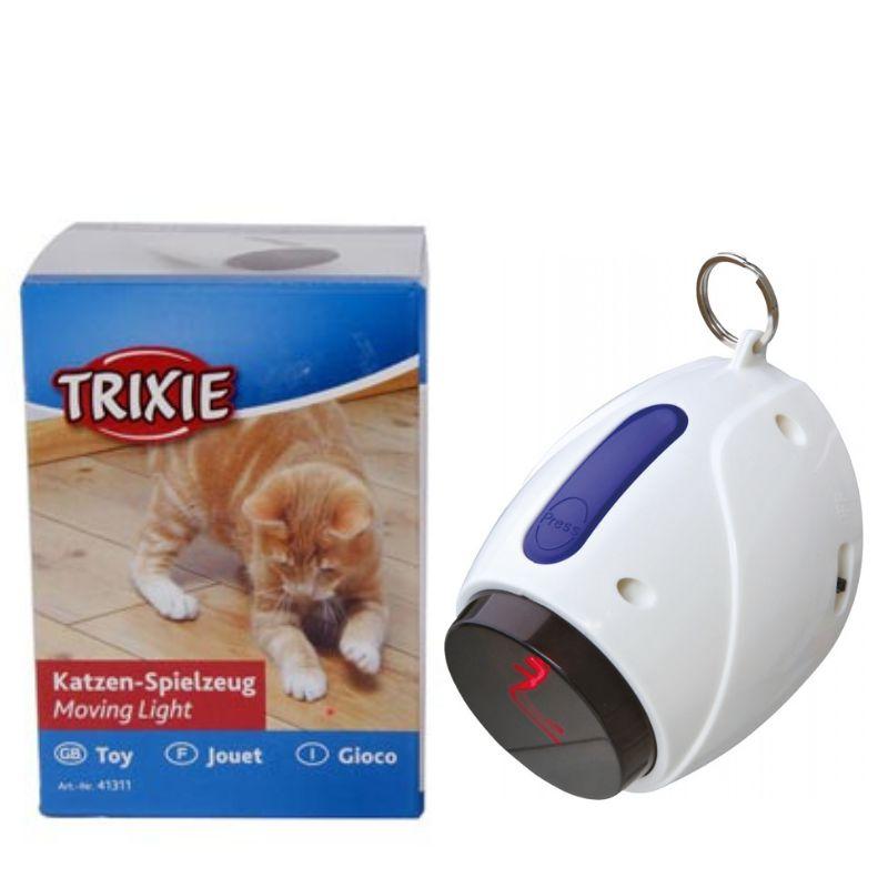 אריזת צעצוע לייזר נע לחתולים של TRIXIE