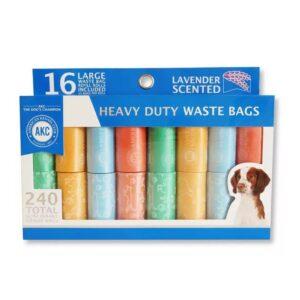 שקיות איסוף צרכים לכלב AKC