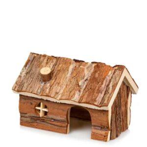 בית עץ טבעי למכרסמים גיגן