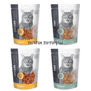 4 אריזות חטיפים 80 גרם לחתולים במבצע MPETS