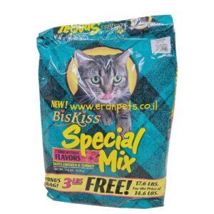 שק מזון לחתולים בוגרים biskiss