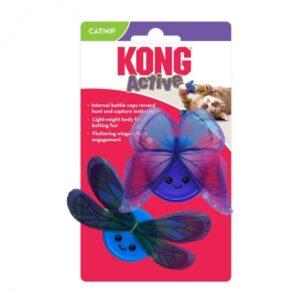 צעצוע אקטיבי לחתולים בצורת פרפר של חברת קונג